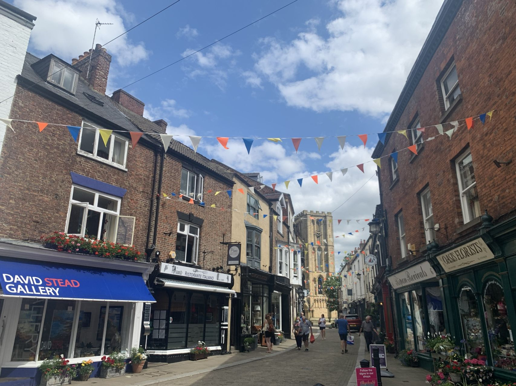 Ripon, just a short stroll from Riverside Lodges